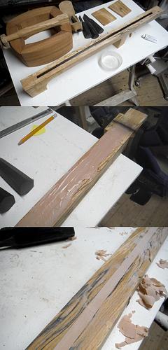 trussrod install